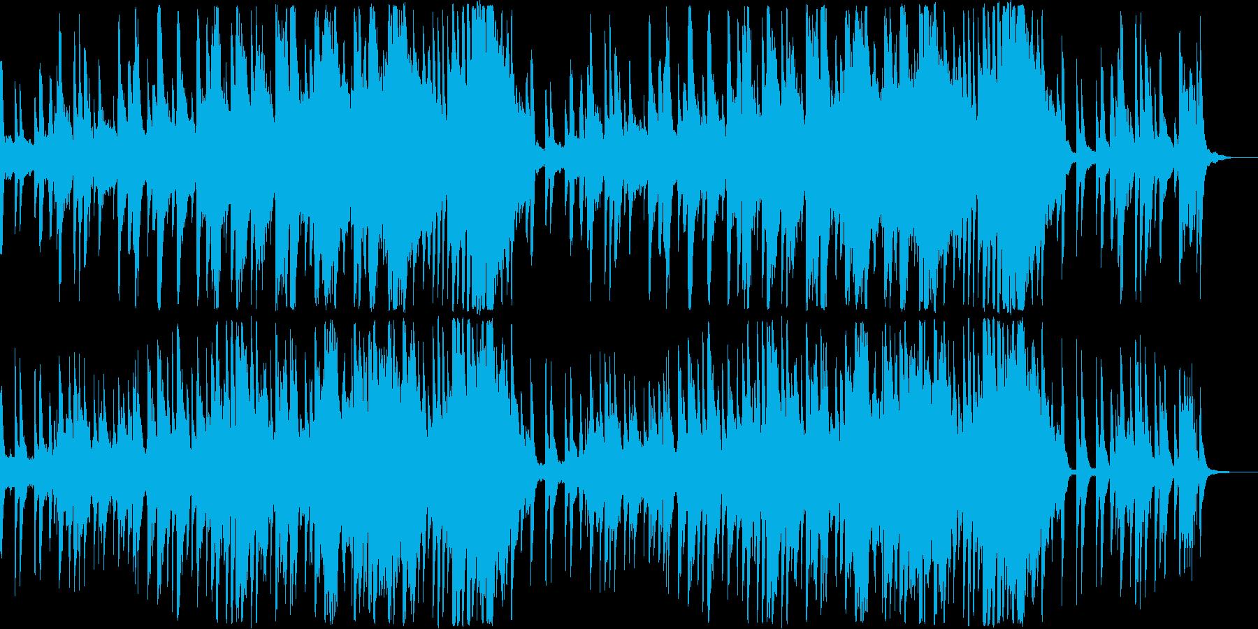 優しくて切ないピアノメロディの再生済みの波形