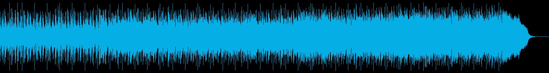 ほのぼのした雰囲気のエレクトロの再生済みの波形