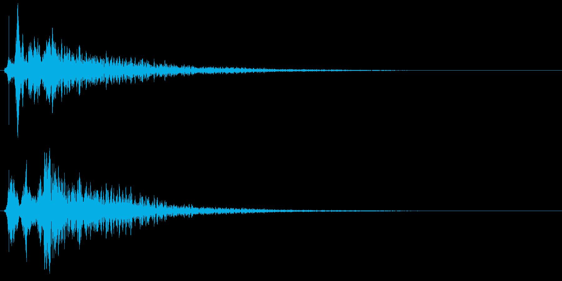 SF 演出 20の再生済みの波形
