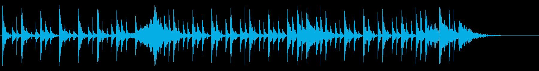 ドラム パーカス クラップ ジングルの再生済みの波形