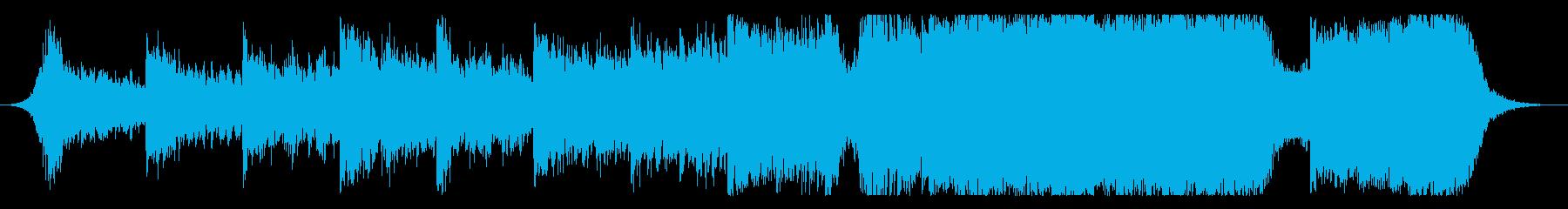 現代の交響曲 積極的 焦り 劇的な...の再生済みの波形