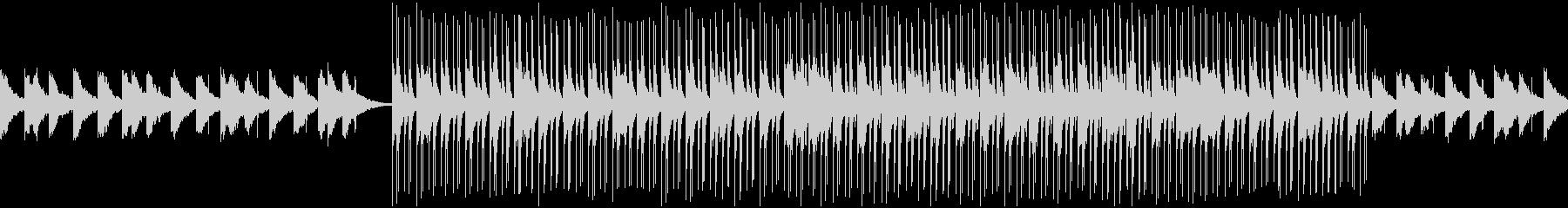 Slowなディープハウス系のループの未再生の波形