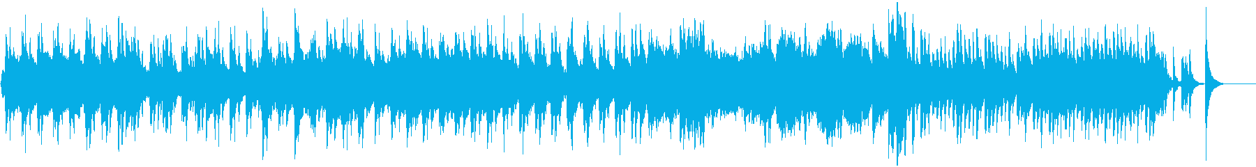 ピアノ・ストリングスの穏やかでカワイイ曲の再生済みの波形