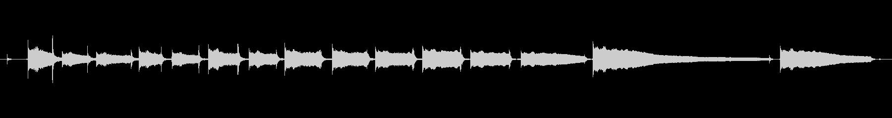 生音エレキギター3弦チューニング1の未再生の波形