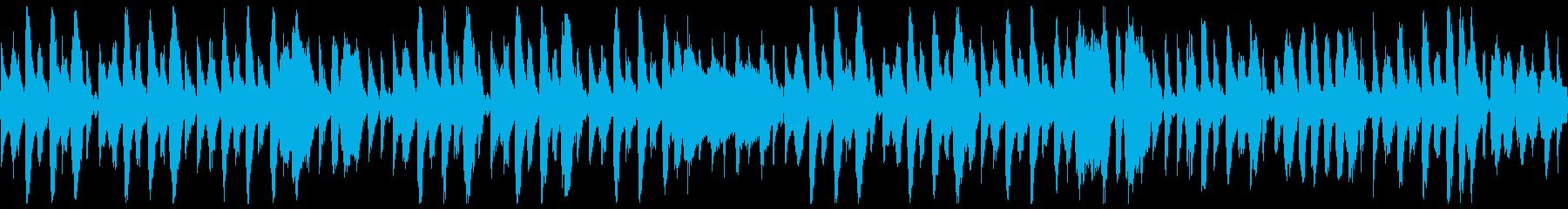 バイオリンがお洒落ジプシージャズ(ループの再生済みの波形