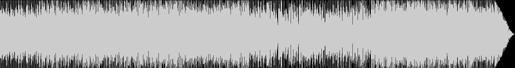 キャッチーなリフを使ったジャズの未再生の波形