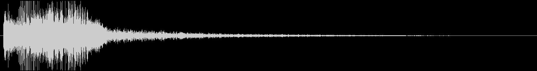 パワージングル シンセ SE1の未再生の波形