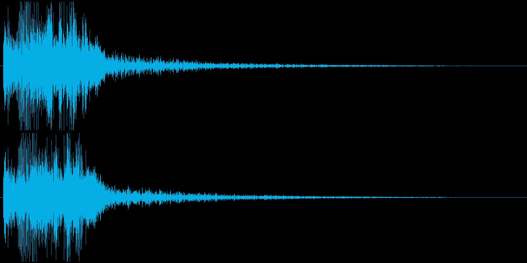 パワージングル シンセ SE1の再生済みの波形