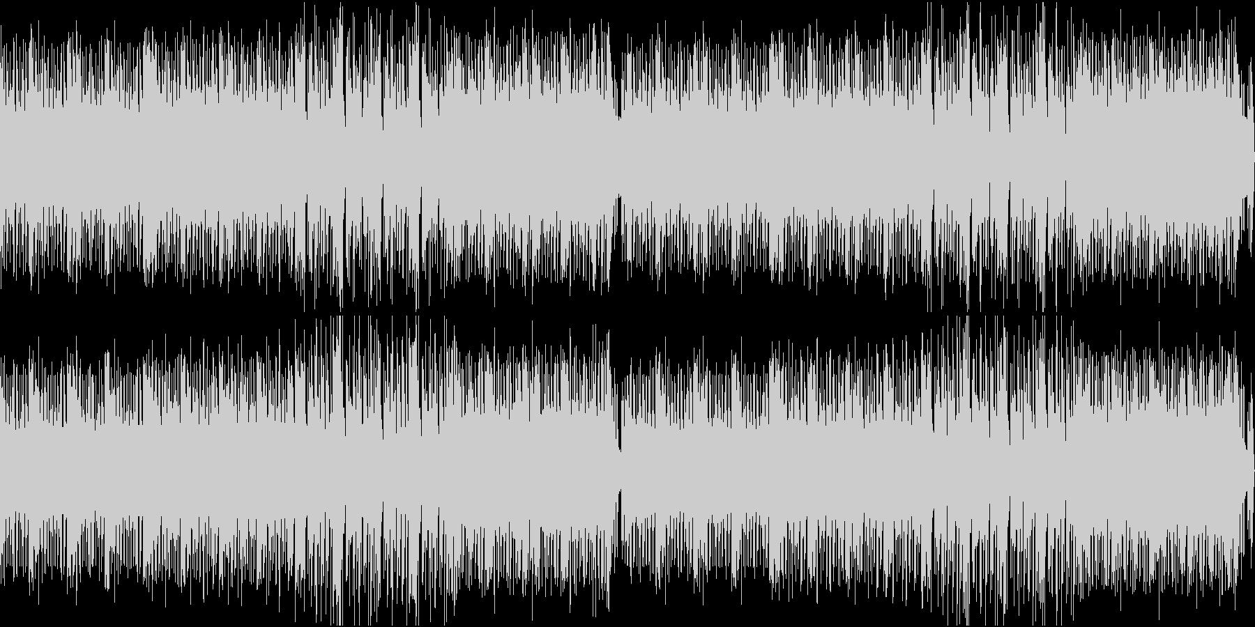 パーティーイメージのノリが良いBGMの未再生の波形