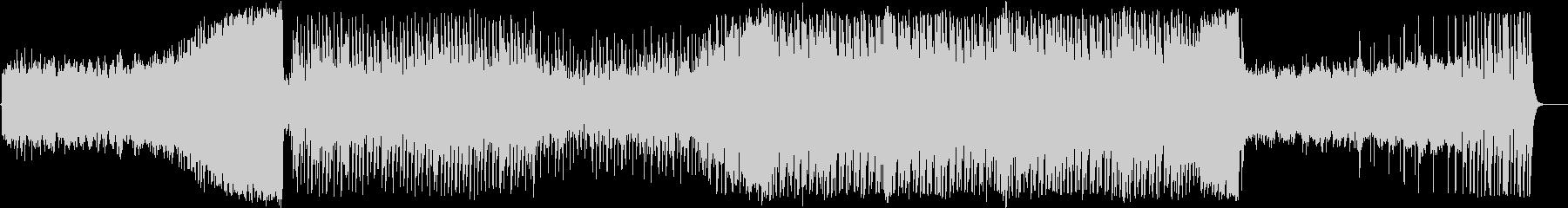 カノンとテクノのフュージョンの未再生の波形