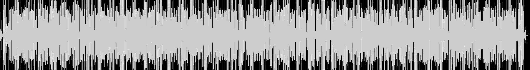 ファンクとルンバの融合したグルーヴと歌の未再生の波形