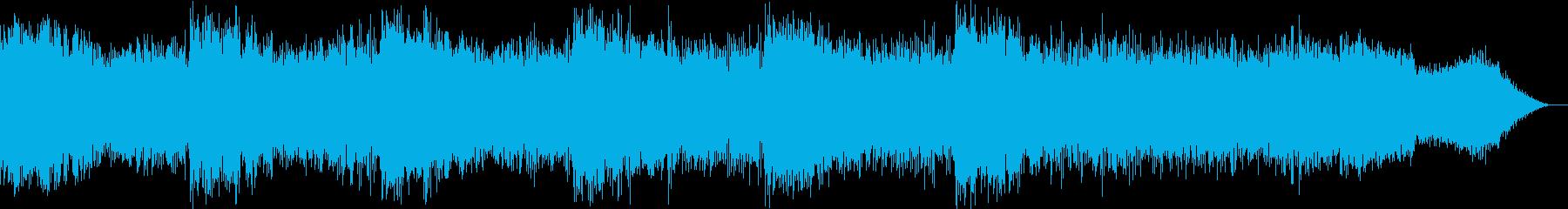 【シンセサイザー】 SFX 環境音 16の再生済みの波形