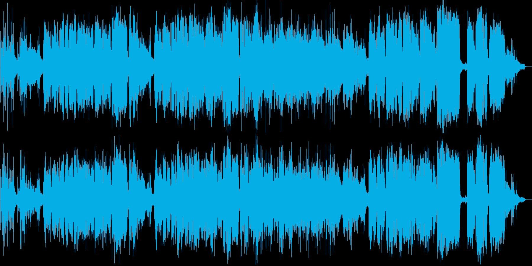クリスマスソングカバーです。の再生済みの波形