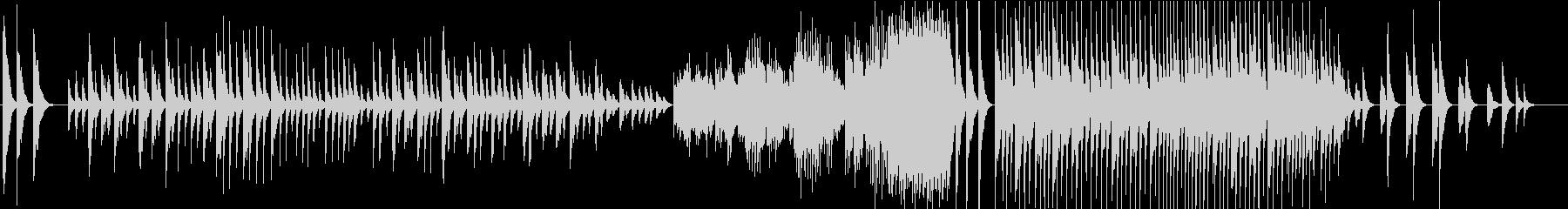 鐘/ラフマニノフ・マリンバの未再生の波形