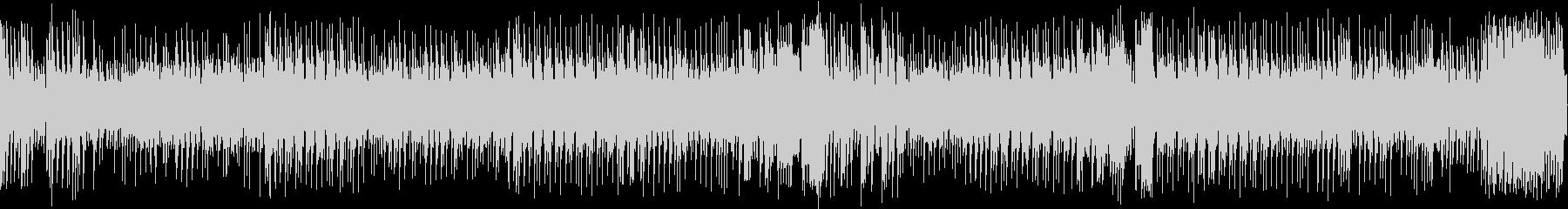8bit 爽快なダークファンタジーBGMの未再生の波形