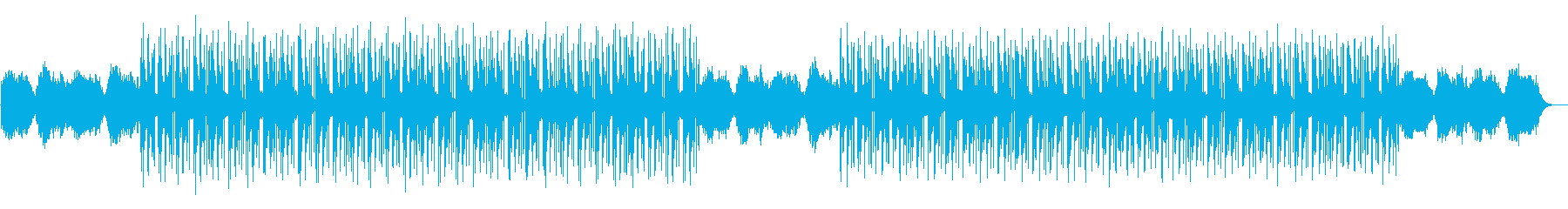 シリアスサスペンス・ミステリアストラップの再生済みの波形