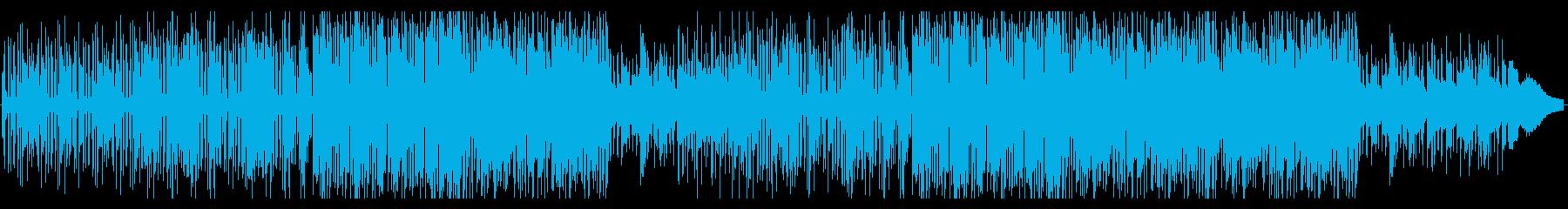 ウキウキ気分のインスト・ポップの再生済みの波形