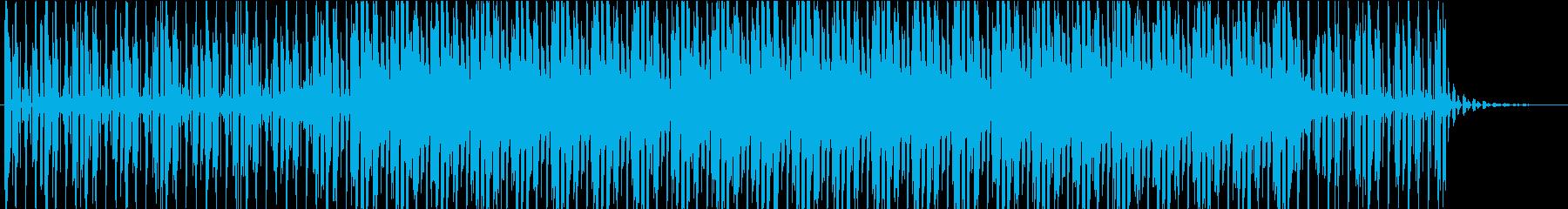 TV・ラジオに使われそうなBGMの再生済みの波形