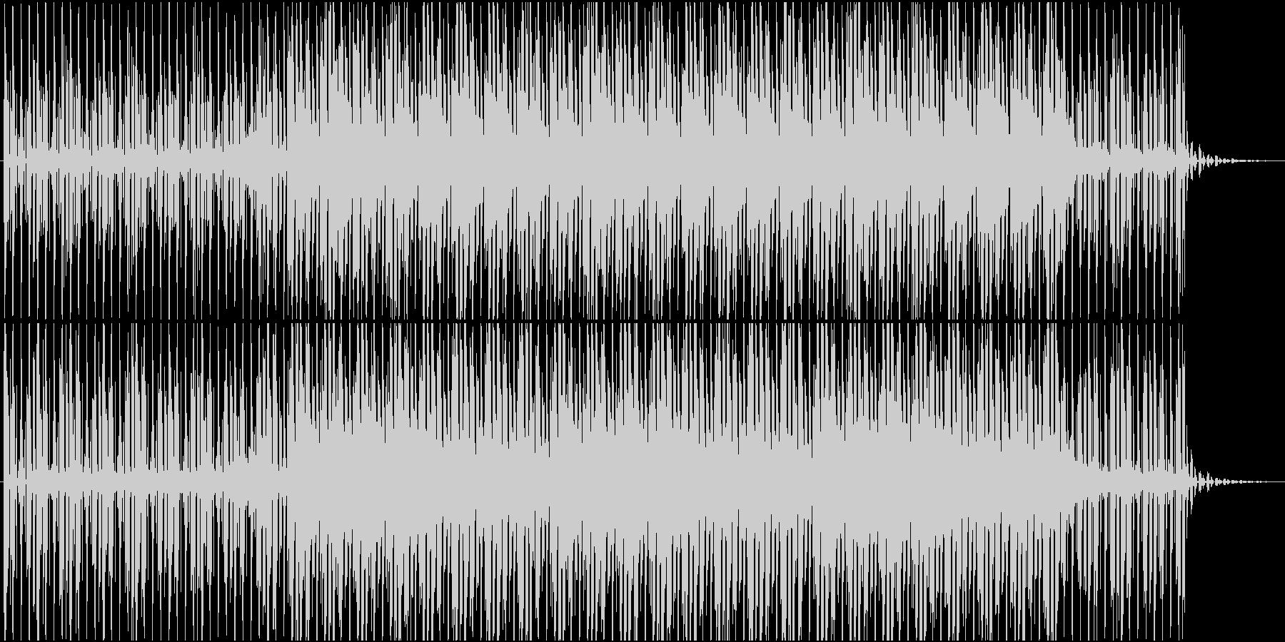 TV・ラジオに使われそうなBGMの未再生の波形