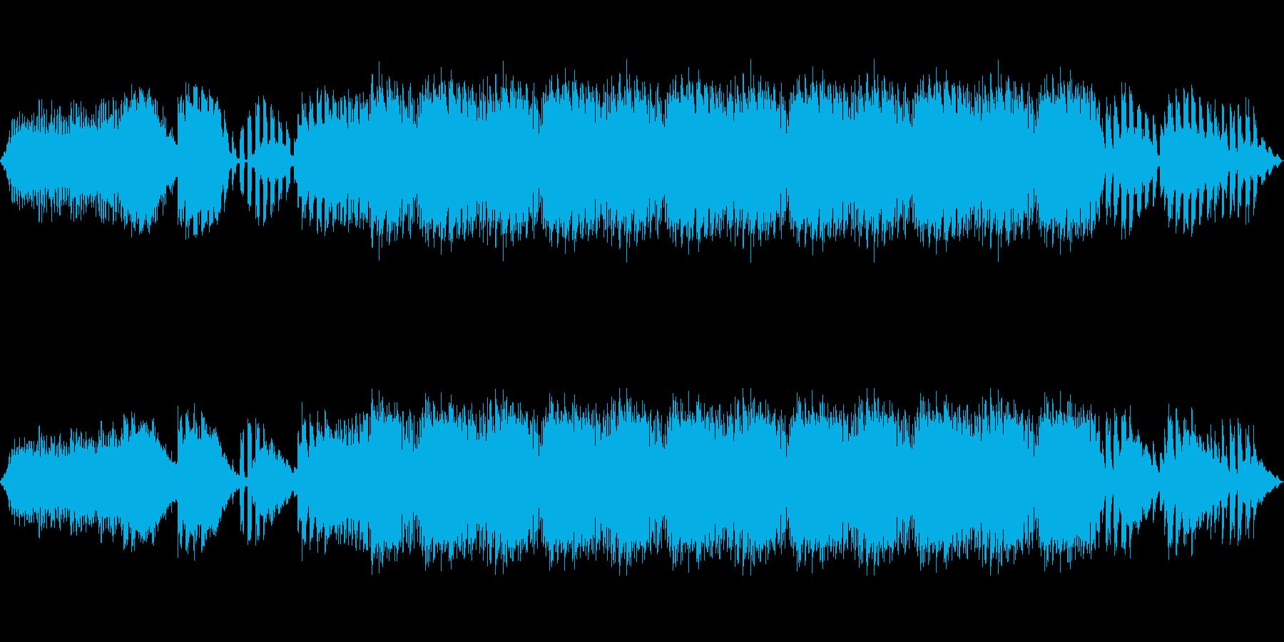 物語の回想~展開シーンBGMの再生済みの波形