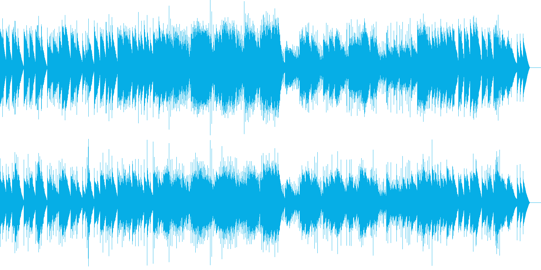 カルメン アルカラの竜騎兵(オルゴール)の再生済みの波形