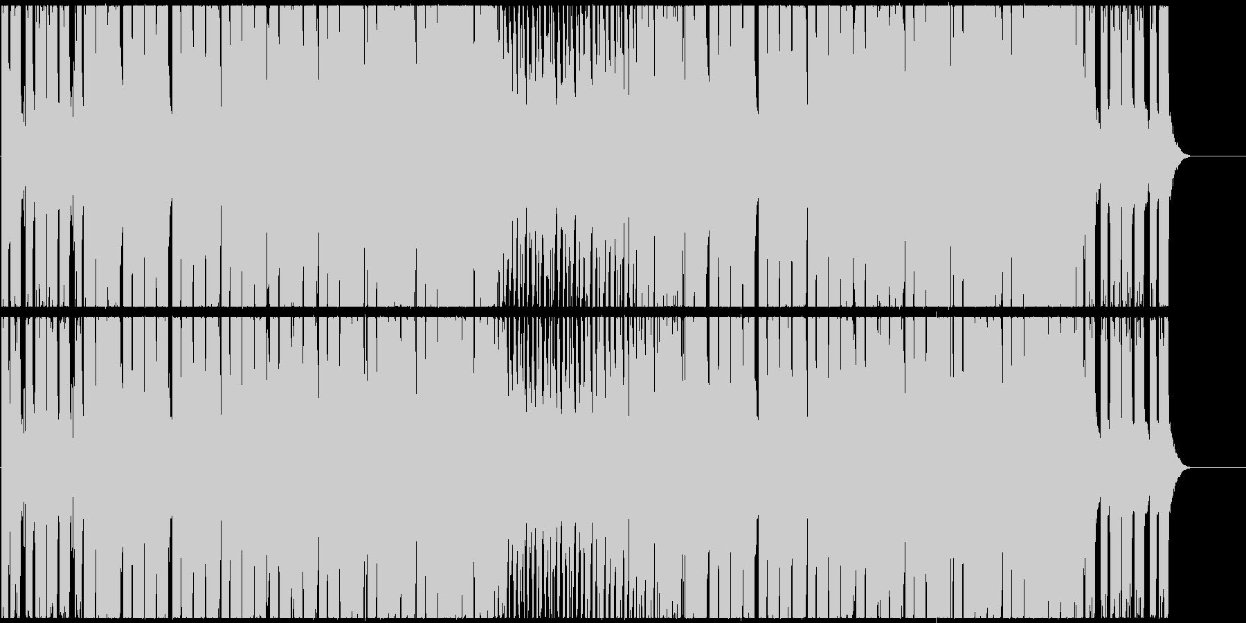 爽快なシンセのポップなEDMハウスの未再生の波形