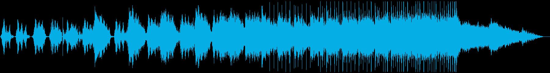 シュールな空気感のある感動的ポストロックの再生済みの波形