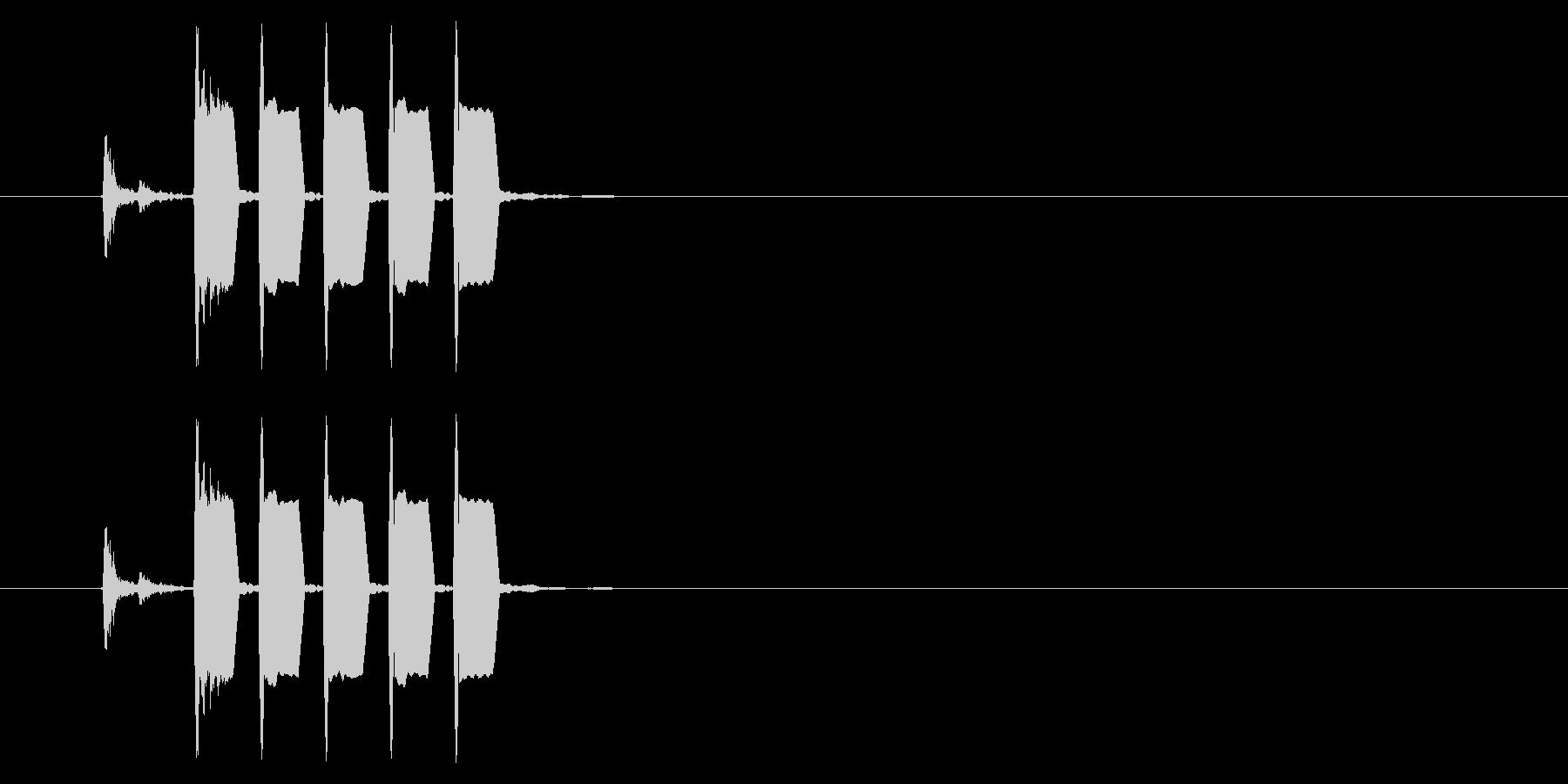 改札 ビープ音01-04(音色1)の未再生の波形
