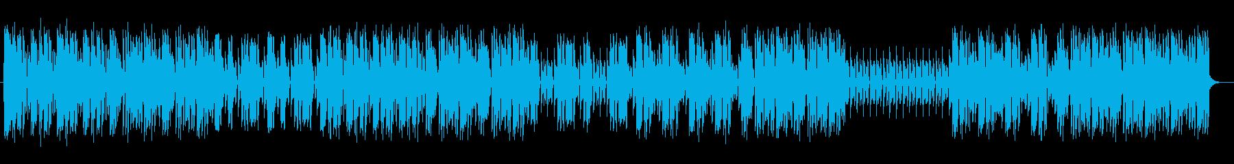 歯切れよくかっこいいテクノミュージックの再生済みの波形