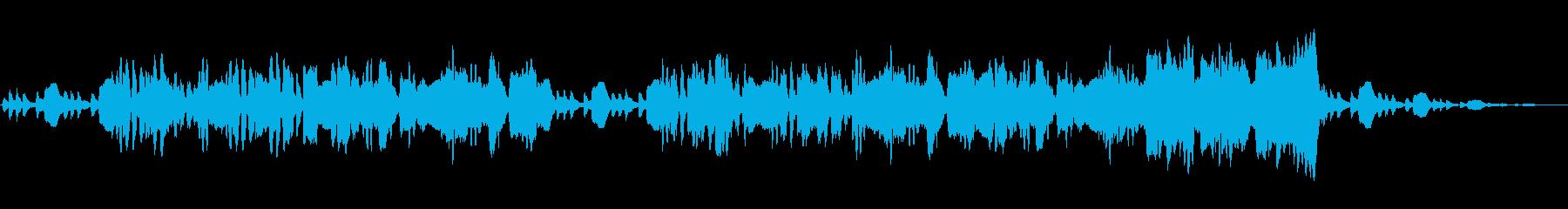 【RPG】不思議な森をイメージした管弦楽の再生済みの波形
