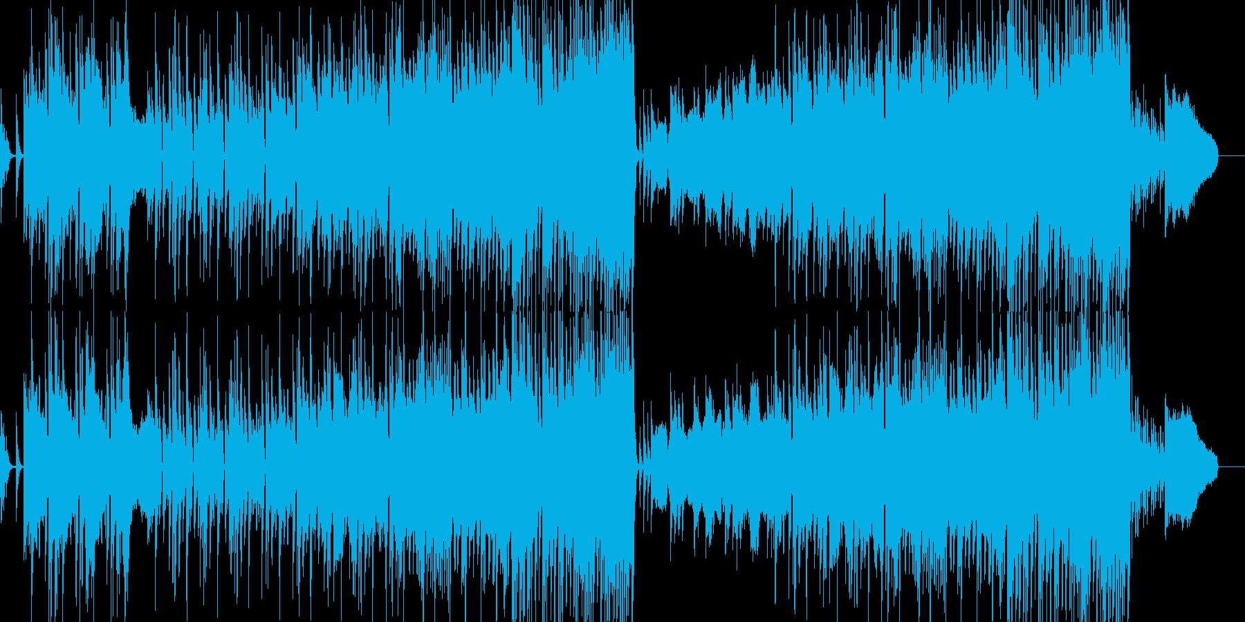 和風島唄風企業VPBGMオーケストラCMの再生済みの波形