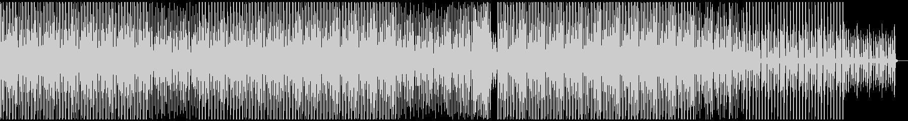パーカッションが軽快なミニマルハウスの未再生の波形