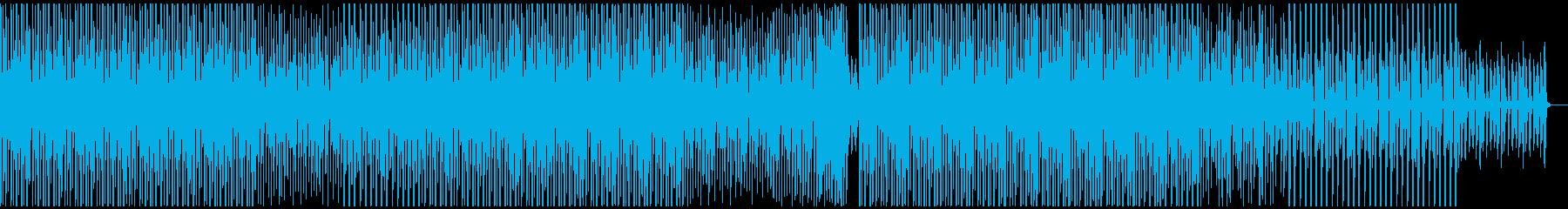 パーカッションが軽快なミニマルハウスの再生済みの波形