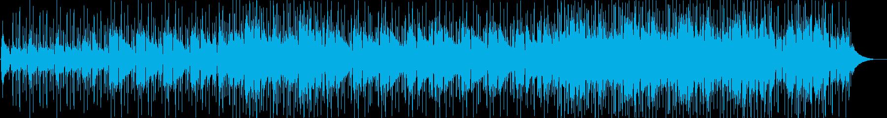 普遍的に魅力的で、快適で前向きなポ...の再生済みの波形