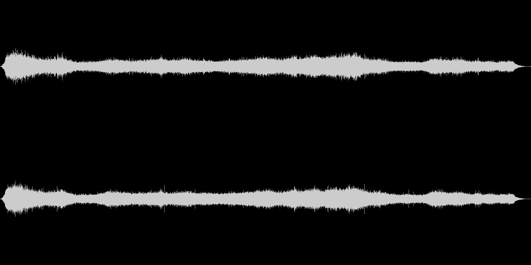 ウェールズの丘の中腹の未再生の波形
