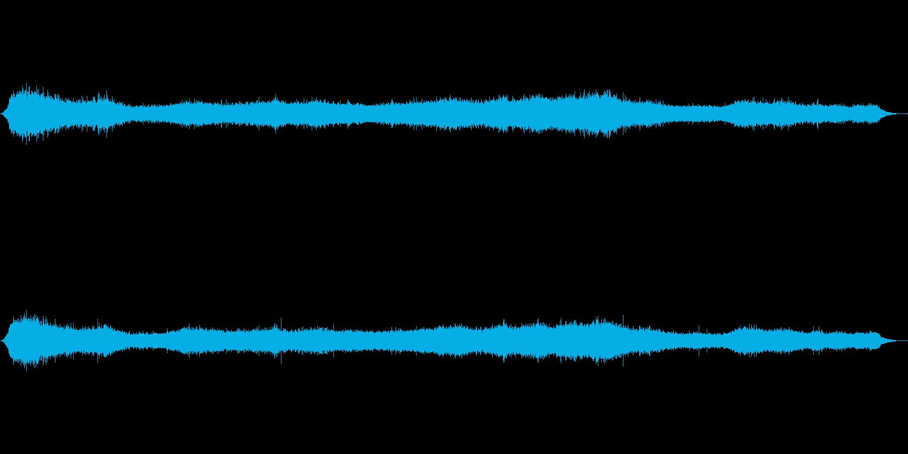 ウェールズの丘の中腹の再生済みの波形