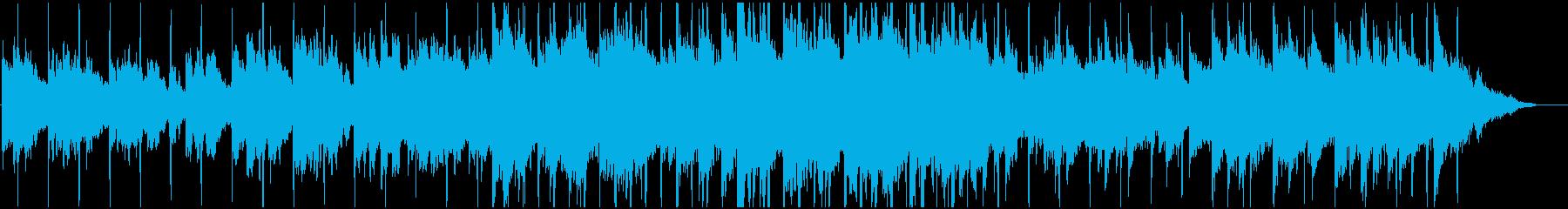 冬、クリスマス スロージャム バラードの再生済みの波形