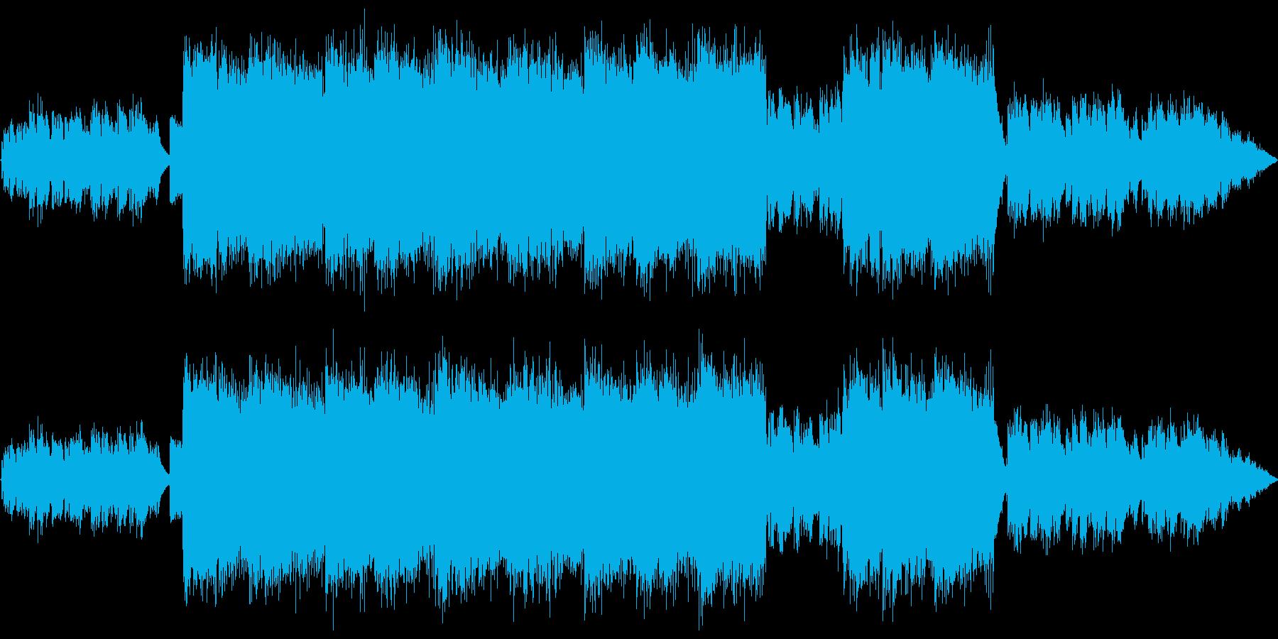 ロック ポップ 男声ボーカル 英詞の再生済みの波形