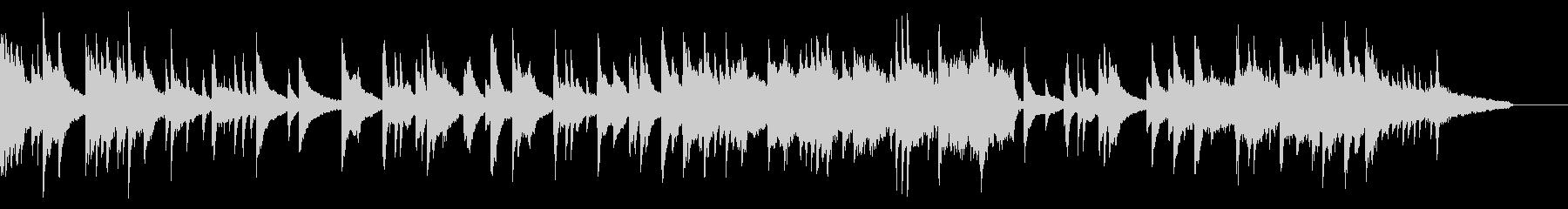 ピアノとストリングスのしっとり系BGMの未再生の波形