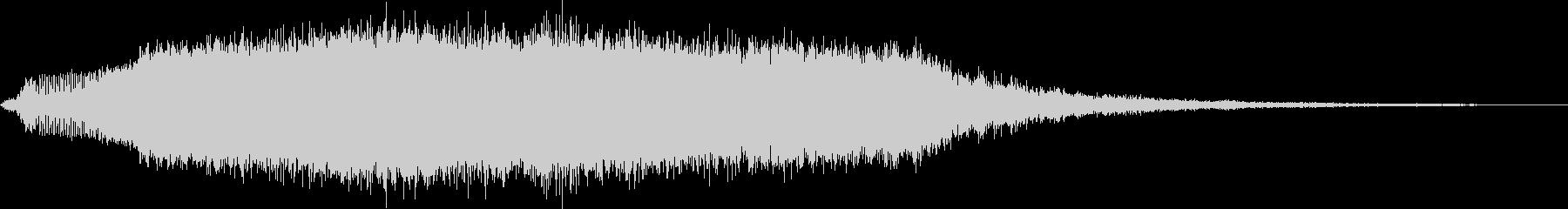 KANT怪獣の鳴き声Middle6の未再生の波形