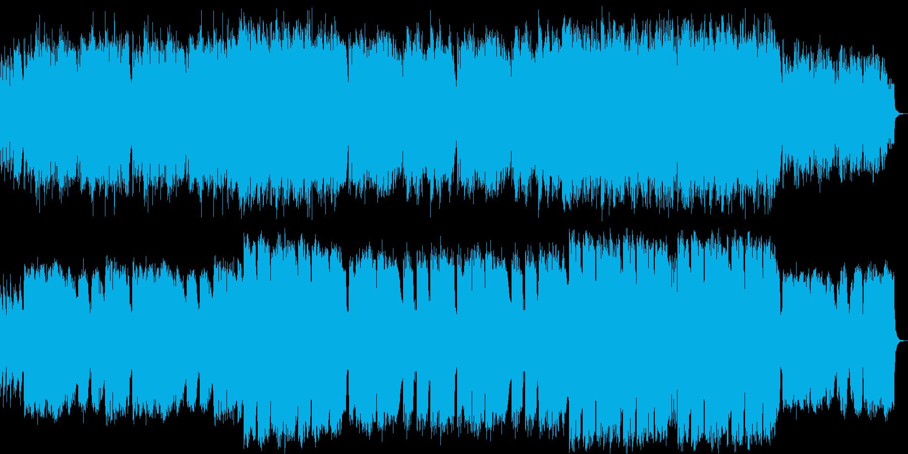 ロマンチックな大人の渋いピアノバラード曲の再生済みの波形