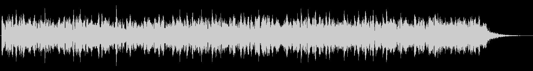 エレクトリックなベースのほのぼのジングルの未再生の波形