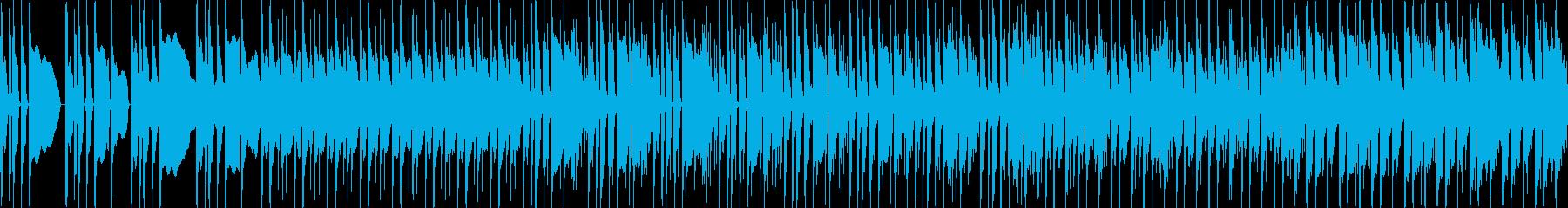 怪しいベースと激しいギターが絡み合う、…の再生済みの波形