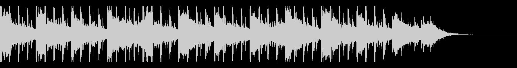 ミニマリズム(30秒)の未再生の波形