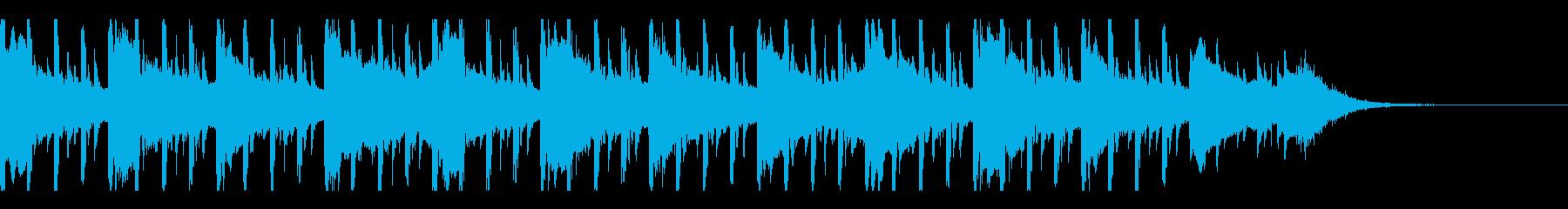 ミニマリズム(30秒)の再生済みの波形