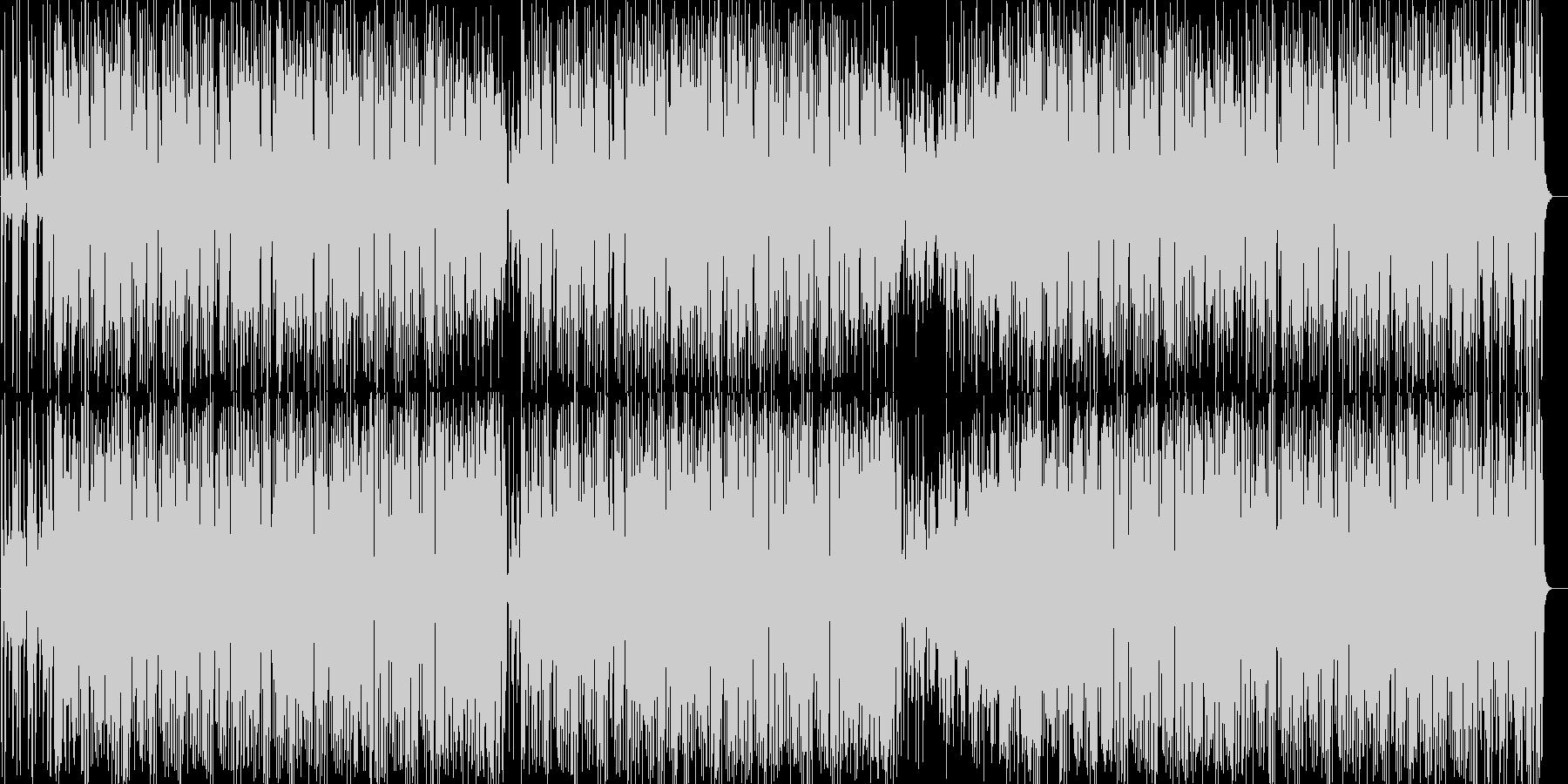 電子音が可愛らしい曲の未再生の波形