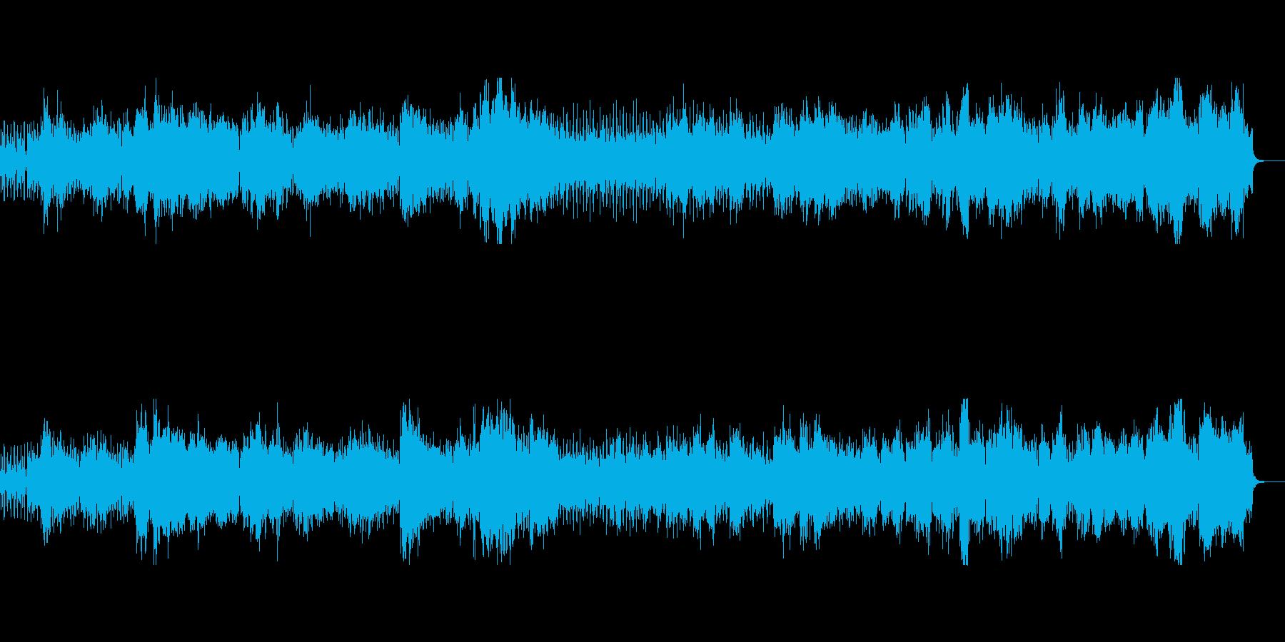 ★聖歌/教会音楽風BGM(男性コーラス)の再生済みの波形
