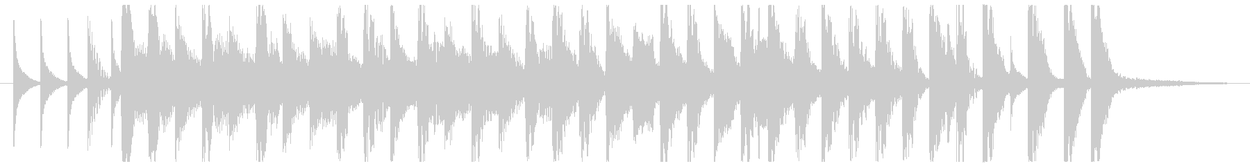 ElectroPop1・カワイイ・ポップの未再生の波形