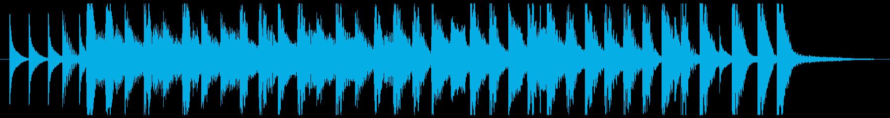 ElectroPop1・カワイイ・ポップの再生済みの波形