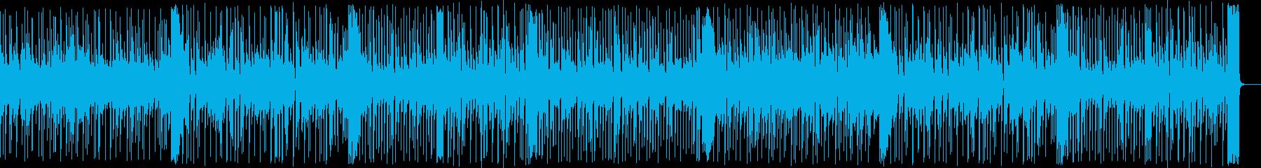 爽やかで優しいホッとする感じの曲の再生済みの波形
